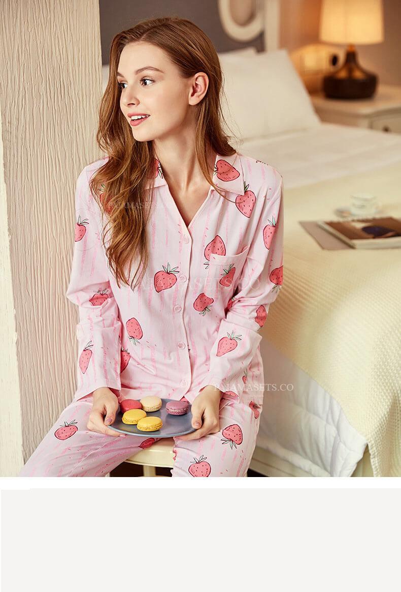 cute women pajama sets