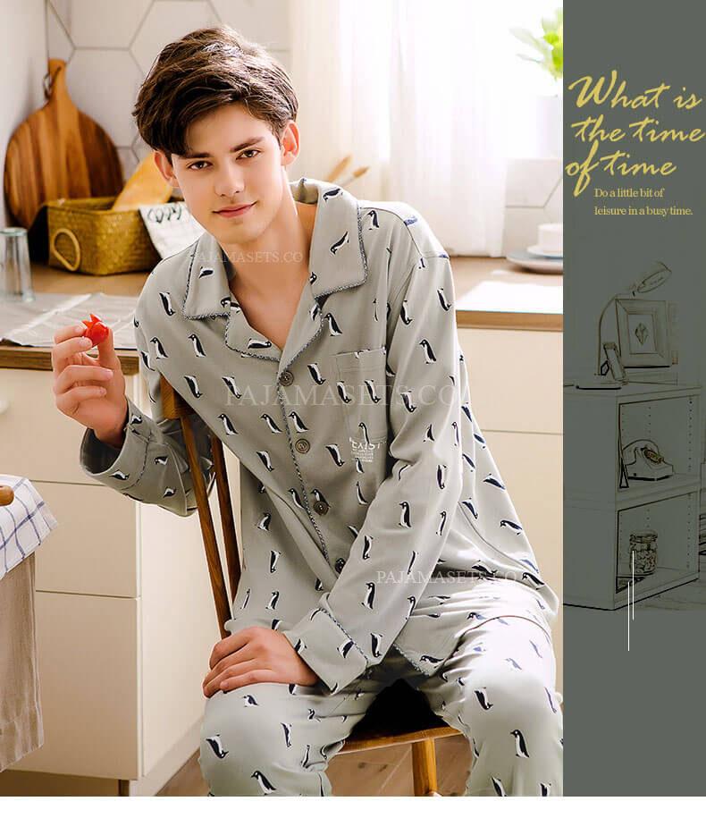 cute men pajama sets