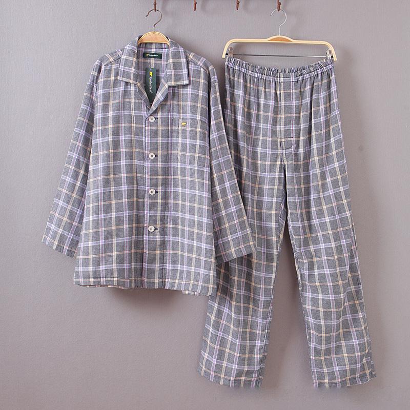 men cotton pajamas