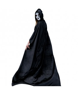 Halloween costumes men and women adults death cloak wizard cloak vampire clothes cosplay