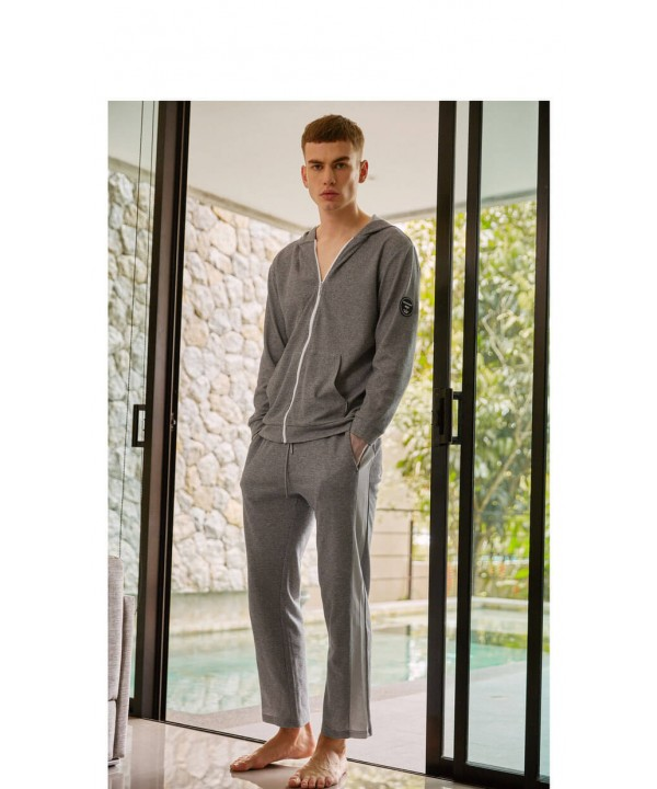 Fashion Long sleeved Men's pajama sets cheap sets ...