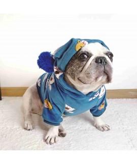 New sweater mink velvet Christmas dress puppy pet ...
