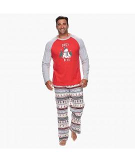 Fashion Christmas parent-child suit two-piece suit
