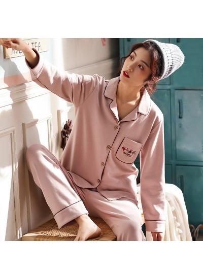 Pure cotton pajamas fresh and lovely cotton pyjamas set