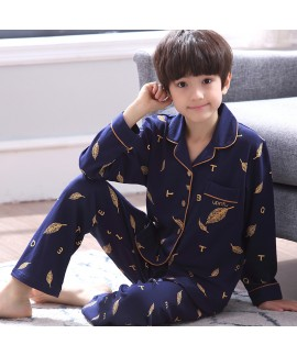 Comfy sleepwear boys set of pajamas for spring Che...