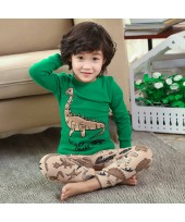 children's cotton pj set for spring cheap 100 cott...