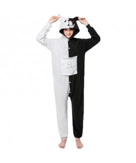 Black and white bear animal cartoon one piece paja...