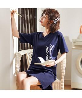 100 cotton new ladies' cartoon pajamas and onesies...