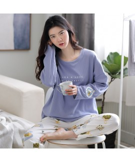 Cotton Long-sleeved Loose And Cute Can Be Worn Out...