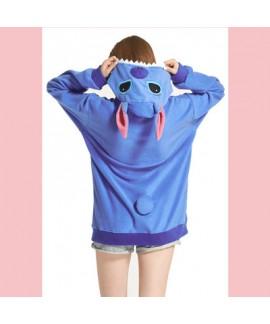 Soft Cartoon animal print pyjamas comfy loungewear pajama sets
