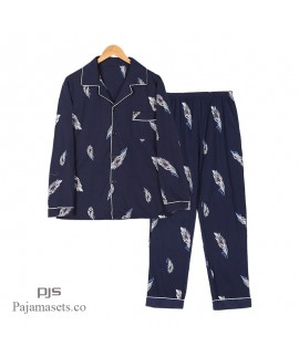 men's cheap cotton pajamas comfy pajama sets for m...