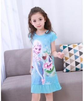 New summer thin children's nightdress short-sleeve...