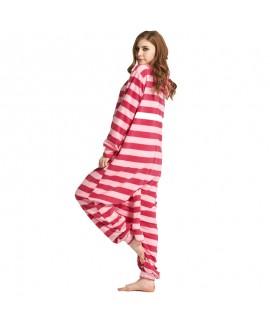 New couple animal cartoon pajamas and onesies cheshire cat ladies sleepwear for sale