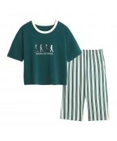 Short-sleeved Pure Cotton Sleepwear Women for Spri...