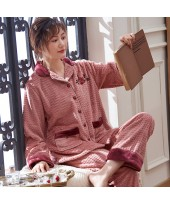Thickened Warm For Middle-aged Ladies Pajama Suit ...
