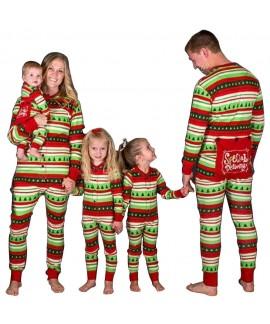 New style parent-child suit children's pajamas Str...