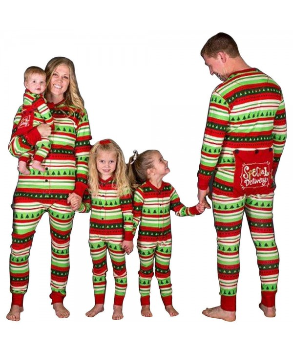 New style parent-child suit children's pajamas Str...