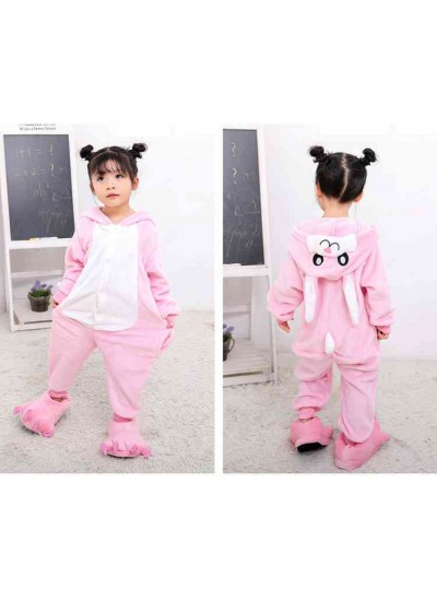 Cartoon animal one-piece pajamas dinosaur unicorn parent-child autumn and winter flannel home service wholesale