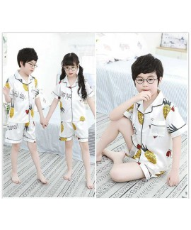 Summer Family Of Three Short Sleeve Mother And Chi...
