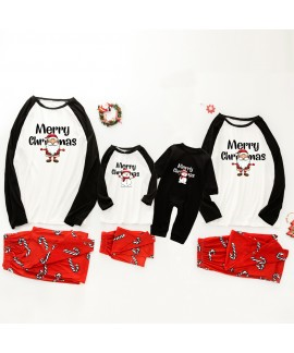 Christmas pajamas family with European and America...