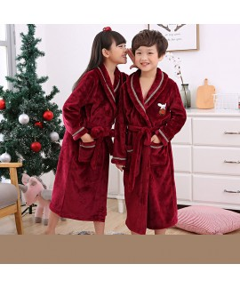 children's comfy pajamas and robe sets cheap flann...