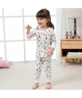 Cheap babies underwear set for spring comfy children's warm pajama sets