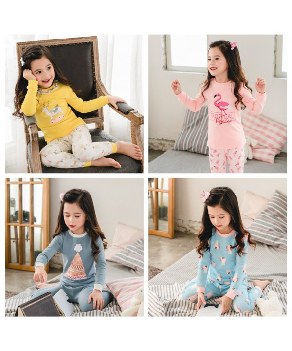 lovely girls lounge pyjamas set for spring cute co...