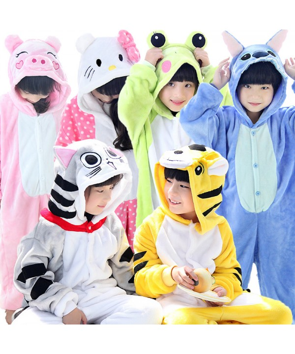 Children Dinosaur animals long sleeves pajama sets...
