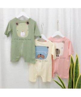 Onesies knitted Thin Children's Short Sleeve Home ...