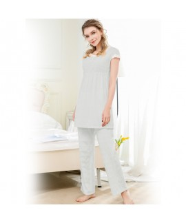 Fashion soft texture pyjamas short sets for women ...