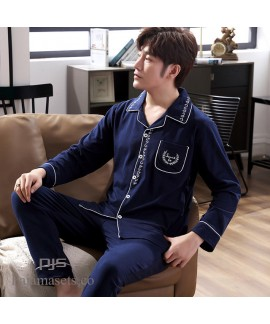 Leisure cardigan thickened Pure Cotton pajama sets...