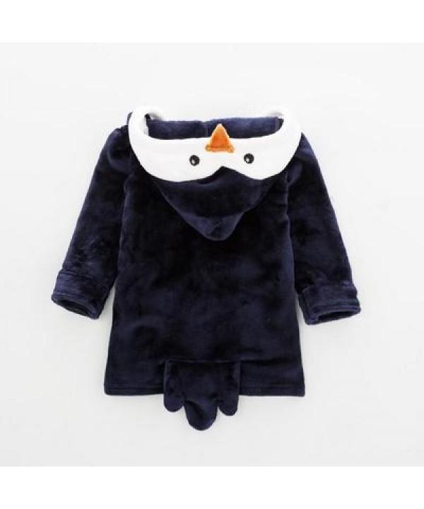 Baby warm penguin crawling set of pajamas cheap comfy pyjamas for children