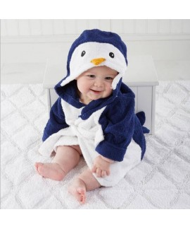 Baby warm penguin crawling set of pajamas cheap co...