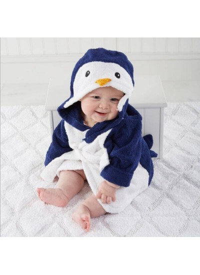 Baby warm penguin crawling set of pajamas cheap comfy pyjamas for children