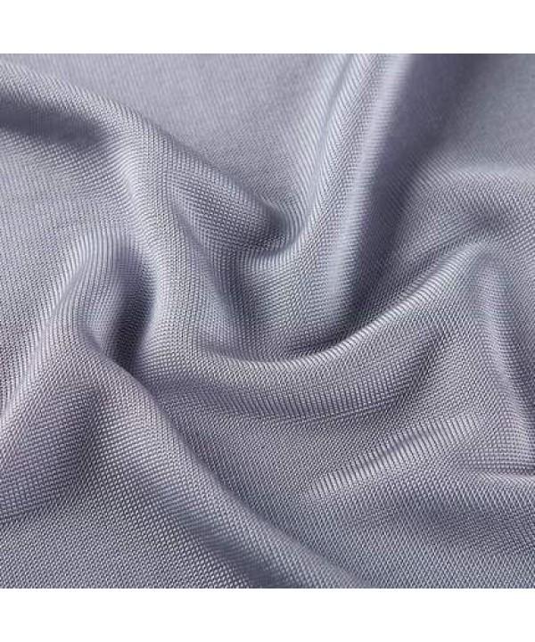 Summer 100% mulberry silk T-shirt, silk mid aged men's sleep wear
