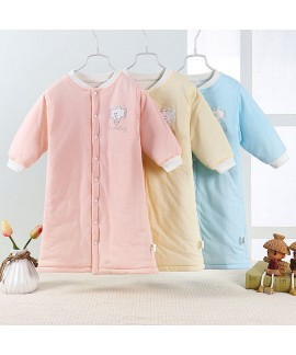 Baby Kid Clothes Cloud Print Sleepwear Thicken Aut...