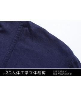 Cotton Summer Sleepwear Male Mid Sleeve Robe Modal Cotton Pajamas For Men Spring And Autumn Bathrobe Wholesale