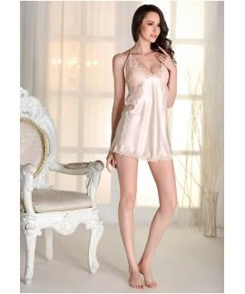 Women Sexy Sling Silk Pajamas Plus Size Lace Night...