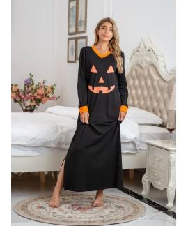 Amazon Wish Explosive Nightdress Cotton Halloween ...