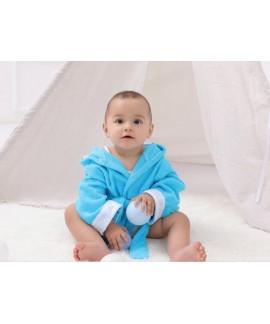 Cartoon baby kid bath towel pure cotton absorbent ...