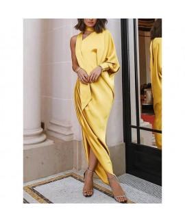 Ladies elegant long dress, evening dress, single s...