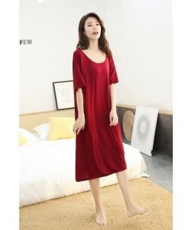 Women Nightdress Summer Sexy Backless Nightgown Mo...