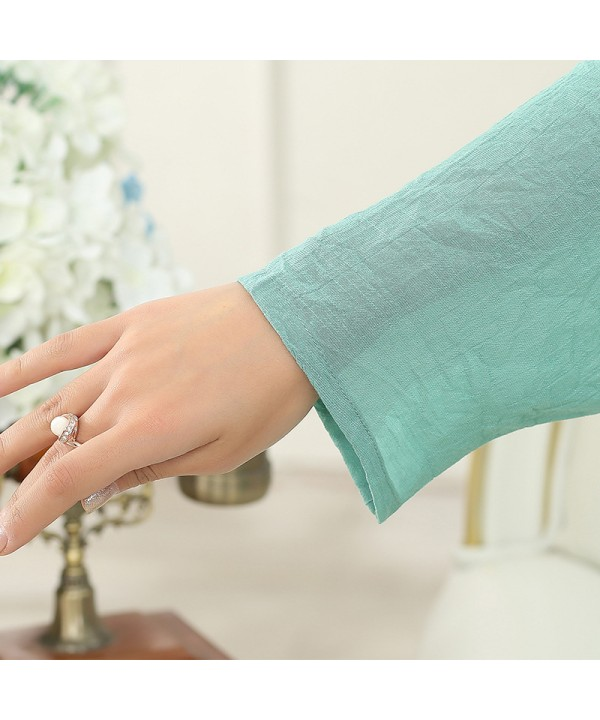 Plus size long sleeved cotton pyjamas sets women softest printed elderly lounge pajamas