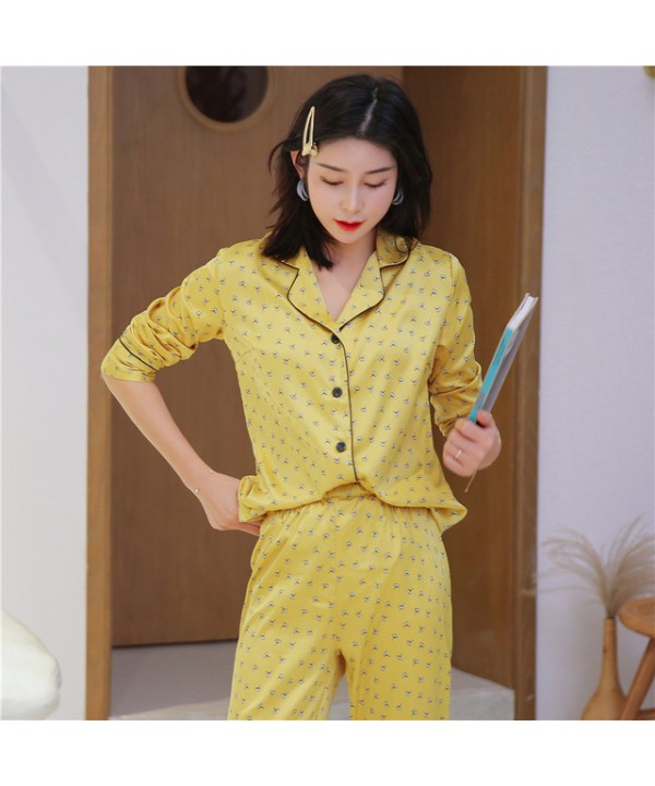 bfefd8ee4 2019 Sexy Pyjamas Women s for spring Long Sleeve S..