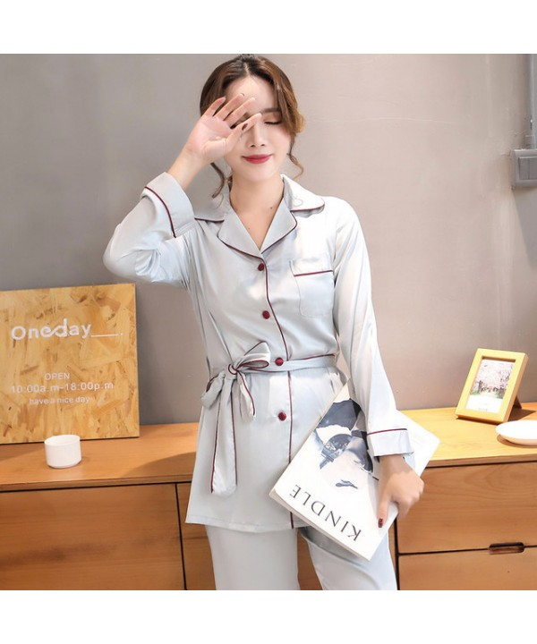 long sleeves women's Sleepwear sets for spring Fas...
