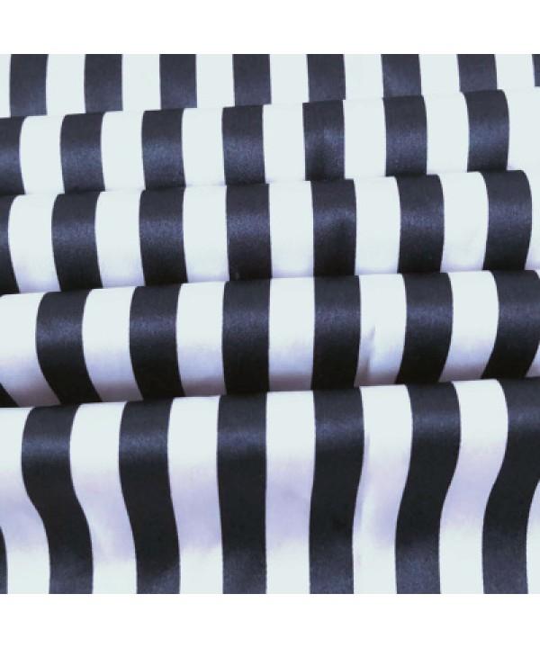 Cute stripes women Satin pajamas short sets for spring comfy silky nightwear female