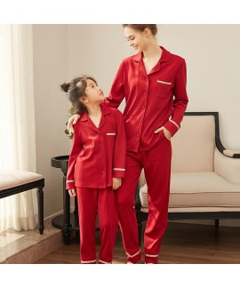 Parent-child pyjamas children's pajamas sets girl ...