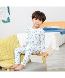Children Comfy cotton pajama sets for spring cheap Simple atmosphere lounge pajamas sets