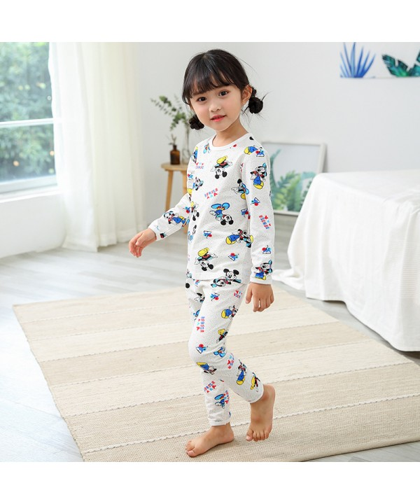 Children Comfy cotton pajama sets for spring cheap...