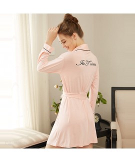 Comfortable long sexy cotton Pajama for women at h...